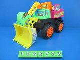 Venda de brinquedos de plástico quente sentir a construção das rodas carro (1038401)