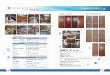 Меламин кожи двери HDF или естественный Veneer
