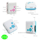 2g/GSM персональный мини-GPS Tracker подвесной комплект для престарелых и детей (V16)