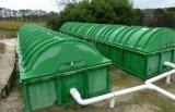 Abwasser-Behandlung-Gerät mit Desinfektion