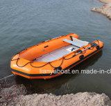Liya 3,0 m pequeno barco de pesca barco inflável de borracha para venda