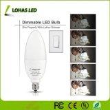 E12 8W de potencia SMD LED Lámpara Bombilla de luz de velas
