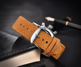 Montre-bracelet 72906 du quartz des hommes de mode d'acier inoxydable de sport de promotion