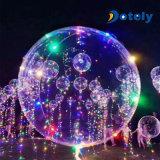 LEDのバレンタインデーの誕生日のクリスマス・パーティLEDの軽い泡ボボの気球