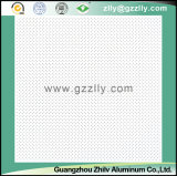 Techo de aluminio de la venta directa de la fábrica para la decoración del sitio