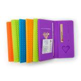 Новое портмоне силикона, держатель кредитной карточки силикона, портмоне силиконовой резины мешка силикона для женщины