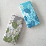 Модное iPhone x аргументы за сотового телефона PC листьев IMD подбора цветов