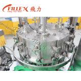 Máquina de enchimento engarrafada da bebida do tampão de coroa vidro automático