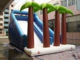 Diapositiva animosa de salto inflable del juguete del nuevo árbol de Plam (T4-304)