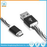 dati elettrici del USB del micro 5V/2.1A che caricano il cavo del telefono mobile