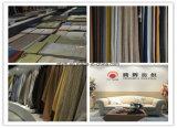 Los tipos lino de las telas de tapicería de los muebles miran la tela