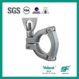 Encaixe de tubulação sanitário da braçadeira 3-Piece do aço inoxidável
