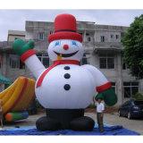 Старик рождества Advrtising раздувной/раздувные продукты рождества