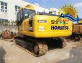 Escavatore originale utilizzato del cingolo del Giappone KOMATSU PC200-7 da vendere