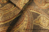Tela clásica del sofá del telar jacquar del tinte del hilado del diseño en Haining
