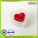 Rote Farben-Rosen-Duft-Dekoration kleine Inner-Form-Kerzen