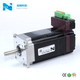China Servomotor sin escobillas con controlador integrado en