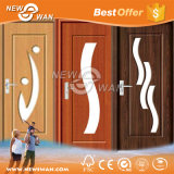 Нутряная дверь PVC/пластичные деревянные цены двери