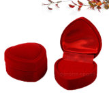 Contenitore impaccante della Rosa di disegno del velluto del cuore di regalo rosso di figura - caso 1