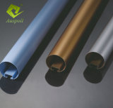 O-Geformtes Rohr-Decken-Leitblech-Aluminiumgefäß-lineare Decke für dekorativen Entwurf