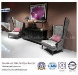 Mobília à moda do hotel com a cadeira da parte traseira da elevação para a entrada (HL-2-6)