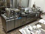 Drei Tür-Edelstahl-Handelskühlraum-Kühler-Prüftisch für Kaffeestube-oder Hotel-Küche (GN3100TN)