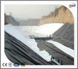 HDPE/LDPE compuesto reforzado geotextil no tejido Geomembrane para el terraplén