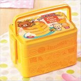 Doos van de Lunch Bento van de Container van het voedsel de Plastic met Vork en Lepel 20013