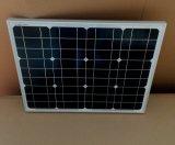 70W Mono pour panneau solaire Rue lumière solaire la charge
