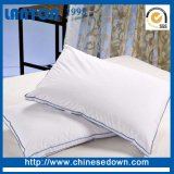Hauptform-weiche gesteppte Gans Pillow unten Baumwolldeckel