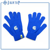 Het in het groot Grappige Pasgeboren Blauw van de Baby breit Handschoenen