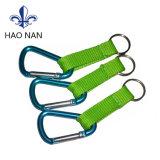 Made in China Mosquetón Correa de tejido personalizado para la promoción de regalos
