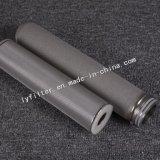 Cartucho de filtro Titanium sinterizado alta calidad para el líquido agresivo