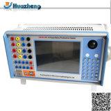 Ordinateur de poche Test du relais complète l'unité 6 de la phase de test des relais de protection de l'appareil