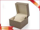 Rectángulos de joyería de lujo del anillo de embalaje de la PU de los rectángulos de joyería