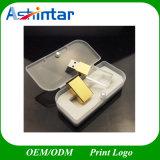 Cartão USB Gold Crystal disco flash USB USB3.0/Unidade Flash USB 2.0