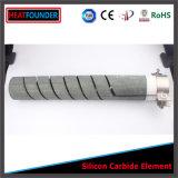 1600c espiral dupla Sic Aquecedor Industrial de termoelementos