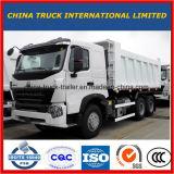 HOWO 8X4 A7 420HP 팁 주는 사람 트럭 12 바퀴 덤프 트럭