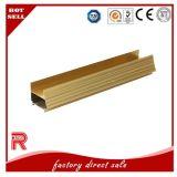 Profil d'or d'aluminium de la Chine/en aluminium de couleur pour Building6063