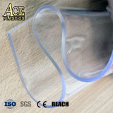 pellicola di vetro libera eccellente molle/flessibile di 1.5/1.8/2.0mm del PVC per il coperchio della tenda/parete/divisorio/tenda del balcone
