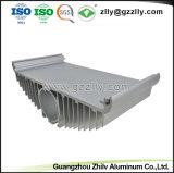 Il fornitore la pressofusione si è sporto profilo di alluminio per il dissipatore di calore del LED