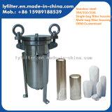 Ss 304/316/316L van het roestvrij staal kiezen de MultiHuisvesting van de Filter van de Zak voor PreFiltratie uit