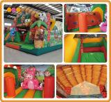 Bouncer de salto inflável da casa animal para a venda (AQ01709-1)