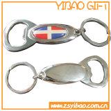 Abridor de Keychain do metal da forma dos peixes para o presente relativo à promoção (MK0102)