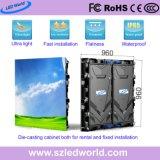 P5, P8, P10 открытый/крытый Аренда/фиксированные дисплей со светодиодной подсветкой экрана для рекламы с 960x960мм/768x768мм Большой Die-Casting шкафа электроавтоматики