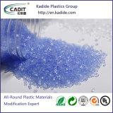 Os grânulos de material plástico Masterbatch cor luminosa para moldagem por injecção