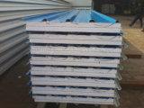 벽과 지붕 950 960 EPS/PU 바위 모직 샌드위치 위원회