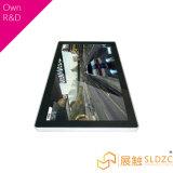 Vloer die LCD Digitale Signage van de Vertoning van de Reclame Kiosk bevinden zich