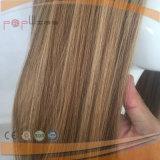레이스 정면 어두운 루트 색깔 실크 최고 가발 (PPG-l-01003)