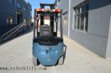 carretilla elevadora eléctrica de cuatro ruedas 2.5t con la batería del vendedor ambulante de Alemania